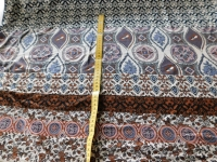 design tricot bruin zwart 084