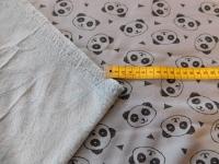 jogging / fleece panda licht blauw 086